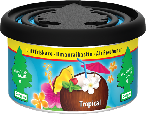 Wunder-Baum Fiber Can Tropical