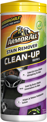 Armor All Clean-Up Wipes Stain Remover