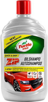 Turtle Wax ZIP Bilshampo 500ml