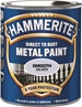 Hammerite Glatt Finish Sølv 250ml