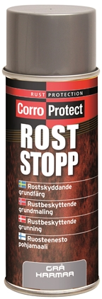 CorroProtect Rust-Stopp Grå Spray