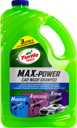 Turtle Wax MAX-POWER Car Wash Shampoo