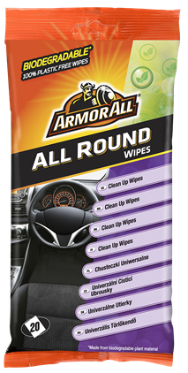 Armor All All Round Wipes Flatpack