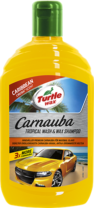 Turtle Wax Carnauba Tropical Shampo 500 ml