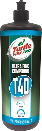 Turtle Wax Pro T40 Ultra Fint Polérmiddel 250ml